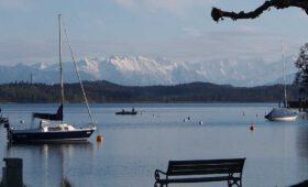 Stanberger See el super conocido y el segundo lago más grande de Baviera.